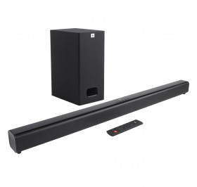 CAIXA DE SOM JBL SOUNDBAR SB130 CINEMA 2.1 SUBWOOFER BLUETOOTH 55W RMS