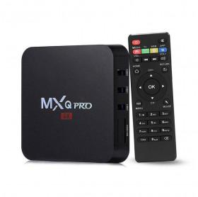 RECEPTOR SMART TV BOX SMART 4K MXQ PRO 3GB RAM/16GB ROM 1 HDMI 4 USB REDE SD/MMC