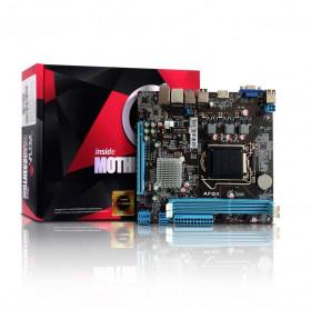 PLACA MAE AFOX IH81-MA5 4 GERACAO 1150 INTEL I3/I5/I7 DDR3 1600/1333/VGA/DVI