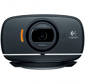 WEBCAM C525 LOGITECH 8MP HD720P PRETA 960-000715