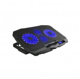 SUPORTE PARA NOTEBOOK ATE 17 HOOPSON C/2 USB 2 COOLER PRETO BPN-005