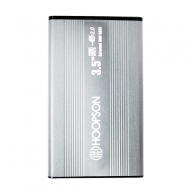 GAVETA EXTERNA USB 2.0 PARA HD 3.5 SATA HOOPSON PRETA C/FONTE