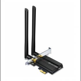 PLACA DE REDE WIRELESS TP-LINK PCI-E ARCHER TX50E WI-FI 6 AX3000 BLUETOOTH 5.0