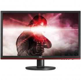 MONITOR LED 24 AOC G2460VQ6 GAMER FULL HD WIDE 1MS VGA HDMI DP 75HZ