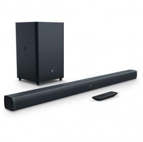CAIXA DE SOM HOME CINEMA JBL BAR 2.1 SUBWOOFER BLUETOOTH 100W RMS JBLBAR21BLKBR