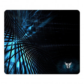 MOUSE PAD ARGOM COMBATE OVERSIZE GAMING 12.6 X 10.6 AZUL/PRETO ARG-AC-1225BK