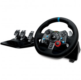 VOLANTE LOGITECH G29 DRIVING FORCE C/PEDAL PARA PC/PS3/PS4 PRETO 941-000111