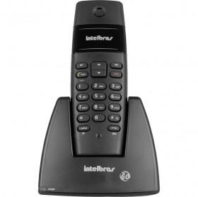 TELEFONE SEM FIO INTELBRAS PRETO TS40