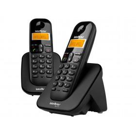 TELEFONE SEM FIO INTELBRAS TS 3112 COM ID + 1 RAMAL PRETO