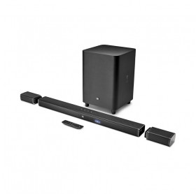 CAIXA DE SOM HOME CINEMA JBL BAR 5.1 SUBWOOFER BTH 218W RMS JBLBAR51BLKBR WIRELE