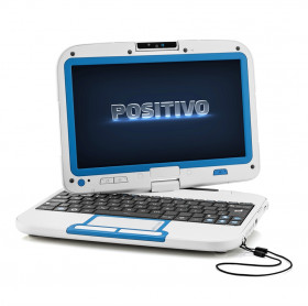 NOTEBOOK POSITIVO MOBO 5950 ATOM N2600 1.6HGZ 2GB 500GB TELA 10.1 LINUX BC/AZUL