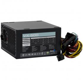 FONTE ATX 500W AEROCOOL VX-500 EN53176 PRETA S/CABO