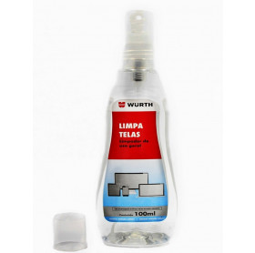 LIMPADOR DE TELA 100ML WURTH