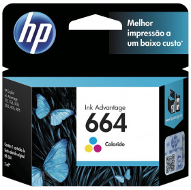 CARTUCHO HP 664 2ML F6V28AB TRICOLOR 1115/2136/3636/3836/4536/4676