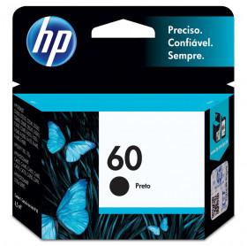 CARTUCHO HP 60 4,5ML CC640WB PRETO F4280/D1660/F4480/F4580/C4680/C4780
