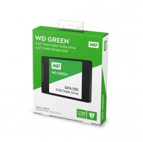 HD SSD 120GB 2.5 SATA III WD GREEN 7MM WDS120G2G0A