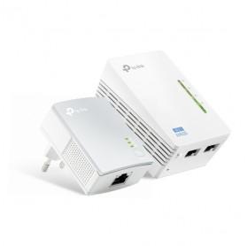 REPETIDOR POWERLINE TP-LINK TL-WPA4220KIT WI-FI N 300MBPS/AV 500MBPS
