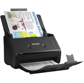 SCANNER EPSON WORKFORCE ES-400 COM ADF 50 FOLHAS 35 PPM 600 DPI