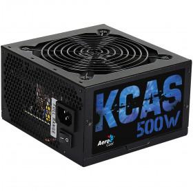 FONTE ATX 500W REAL AEROCOOL KCAS EN53367 80 PLU BRONZE PRETA S/CABO