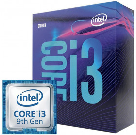 PROCESSADOR INTEL CORE I3-9100F 9 GERACAO 3.6GHZ 6MB LGA1151 - SEM VIDEO ONBOARD