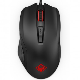 MOUSE USB HP GAMER OMEN 600 PRETO 1KF75AA