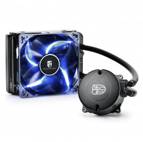 COOLER P/ CPU GAMER STORM WATERCOOLER DEEPCOOL INTEL E AMD DP-GS-H12RL-MS120TAM4
