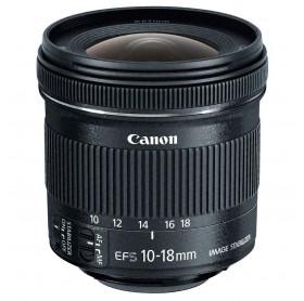 LENTE CANON EFS 10-18MM F4.5-5.6 IS STM