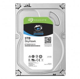 HD 3TB SATA III 3.5 SEAGATE SKYHAWK 5900RPM 64MB ST3000VX010 - VIGILANCIA-DVR
