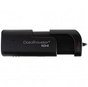 PEN DRIVE 16GB KINGSTON 104 USB 2.0 PRETO DT104/16GB