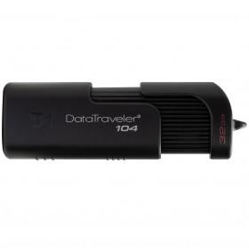 PEN DRIVE 32GB KINGSTON 104 USB 2.0 PRETO DT104/32GB