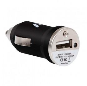 CARREGADOR ARGOM VEICULAR C/1 USB 1A ARG-AC-0101