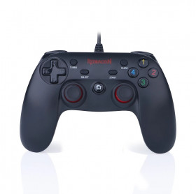 JOYSTICK COM FIO REDRAGON G807 SATURN PC/PS3 PRETO