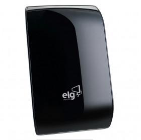ANTENA PARA TV INTERNA ELG EDGE HDTV5000BK CABO 2,5MT 6DB PTA - VHF/UHF/FM/HDTV