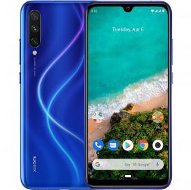 APARELHO CELULAR SMARTPHONE XIAOMI MI A3 128GB 4GB TELA 6 NOT JUST BLUE
