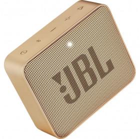 CAIXA DE SOM PORTATIL JBL GO 2 CHAMPAGNE IPX7 BT 3W JBLGO2CHAMPAGNE