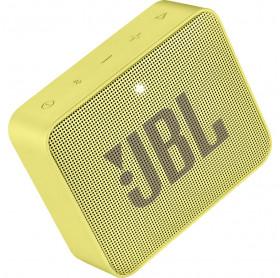 CAIXA DE SOM PORTATIL JBL GO 2 AMARELA IPX7 BT 3W JBLGO2YEL
