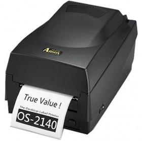 IMPRESSORA DE ETIQUETAS TERMICA ARGOX OS-2140 USB SERIAL 203DPI PRETA