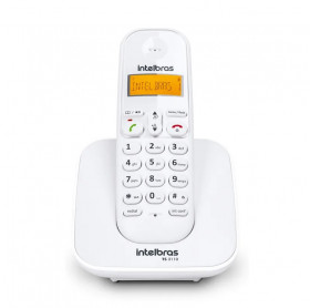TELEFONE SEM FIO COM ID CHAMADAS INTELBRAS BRANCO TS3110