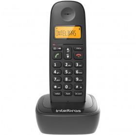 TELEFONE SEM FIO COM ID CHAMADAS INTELBRAS PRETO TS2510