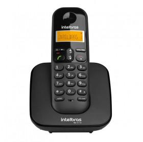TELEFONE SEM FIO COM ID CHAMADAS INTELBRAS PRETO/BRANCO TS3110