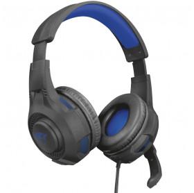 FONE COM MICROFONE TRUST 23250 GAMING GXT 307B RAVU PS4 PRETO
