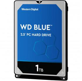 HD 1TB SATA III WD BLUE 2.5 NOTEBOOK 7MM 5400RPM 128MB WD10SPZX