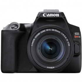 CAMERA DIGITAL CANON EOS REBEL SL3 24.1MP/4K/LCD 3/WIFI+BT/EF-S 18-55 MM PRETA