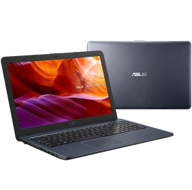 "Notebook Asus X543MA-GQ956T Tela 15.6"" Intel Celeron Dual N4000 Windows 10 Cinza"