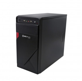 GABINETE ATX 1 BAIA HOOPSON CPU-009 PRETO SEM FONTE