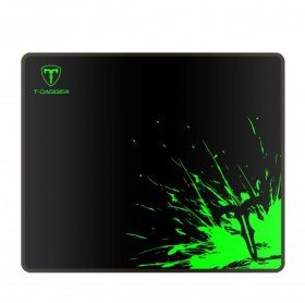 MOUSE PAD GAMING T-DAGGER T-TMP200 LAVA-M CONTROL 360X300X3MM PRETO/VERDE