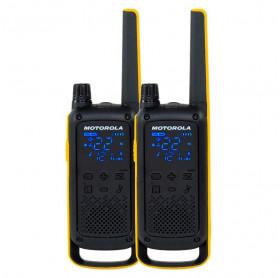 RADIO COMUNICADOR MOTOROLA T470BR GO BEYOND 35KM IPX4 26 CANAIS