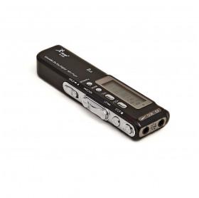 GRAVADOR DIGITAL 8GB KNUP KP-8004 LCD MP3 SAIDA P2