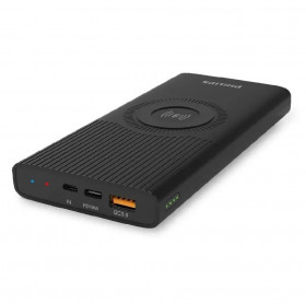 BATERIA PORTATIL PHILIPS WIRELESS COMPACT 10.000 MAH PRETA DLP6643C/97