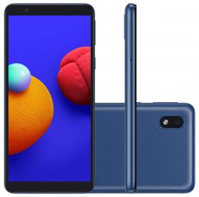 APARELHO CELULAR SMARTPHONE SAMSUNG GALAXY A01 CORE 32GB/2GB RAM/4G/8MP/TELA 5.3